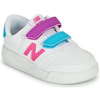 Topánky Dievčatá Nízke tenisky New Balance COURT Biela / Ružová