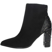 Topánky Ženy Čižmičky Menbur 21956 Black