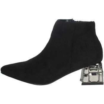 Topánky Ženy Čižmičky Menbur 22098 Black
