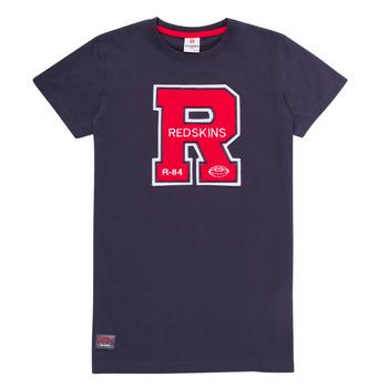 Oblečenie Chlapci Tričká s krátkym rukávom Redskins TSMC180161-NAVY Námornícka modrá