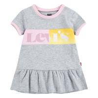 Oblečenie Dievčatá Krátke šaty Levi's 1EC694-G2H Šedá