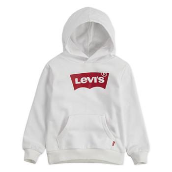 Oblečenie Chlapci Mikiny Levi's BATWING HOODIE Biela