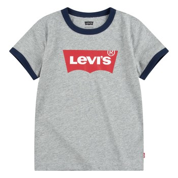 Oblečenie Chlapci Tričká s krátkym rukávom Levi's BATWING RINGER TEE Šedá