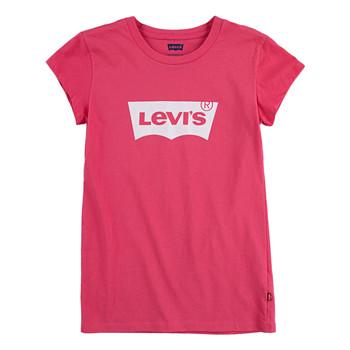 Oblečenie Dievčatá Tričká s krátkym rukávom Levi's BATWING TEE SS Ružová
