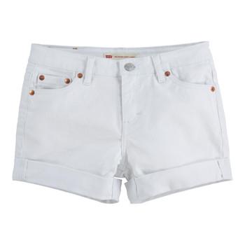 Oblečenie Dievčatá Šortky a bermudy Levi's 4E4536-001 Biela