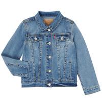 Oblečenie Dievčatá Džínsové bundy Levi's 4E4388-M0K Modrá