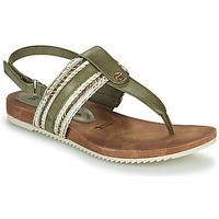 Topánky Ženy Sandále Tamaris LOCUST Zelená pistáciová