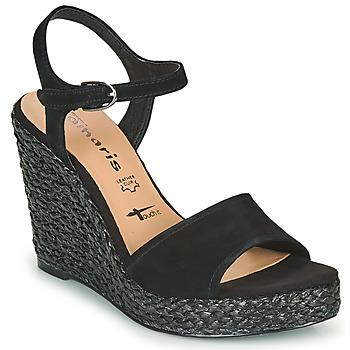 Topánky Ženy Sandále Tamaris CYNARA Čierna