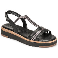 Topánky Ženy Sandále Tamaris BENNA Čierna