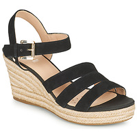 Topánky Ženy Sandále Geox D SOLEIL C Čierna