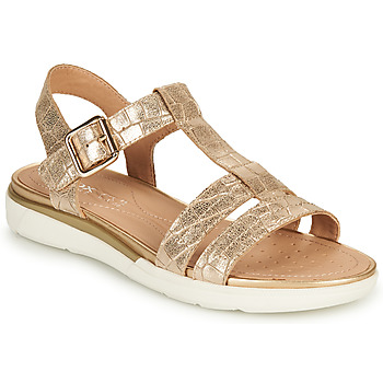 Topánky Ženy Sandále Geox D SANDAL HIVER B Zlatá