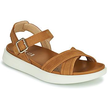 Topánky Ženy Sandále Geox D XAND 2S B Koňaková