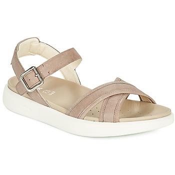 Topánky Ženy Sandále Geox D XAND 2S B Béžová