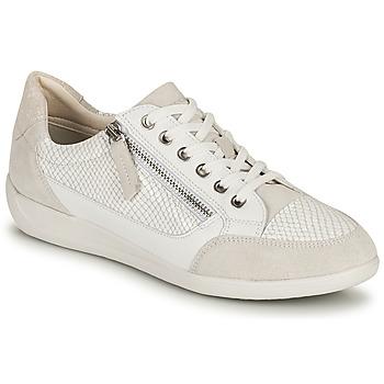 Topánky Ženy Nízke tenisky Geox D MYRIA A Biela