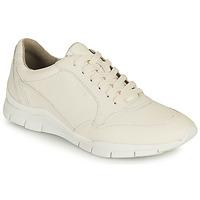 Topánky Ženy Nízke tenisky Geox D SUKIE A Biela