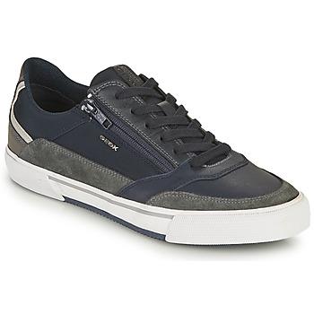 Topánky Muži Nízke tenisky Geox U KAVEN B Námornícka modrá