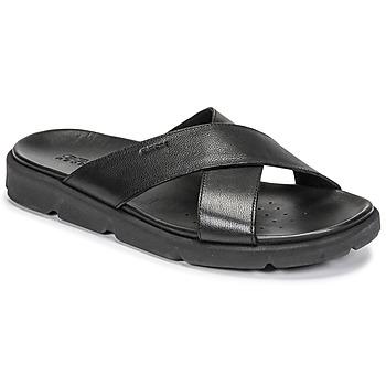 Topánky Muži Sandále Geox U XAND 2S C Čierna