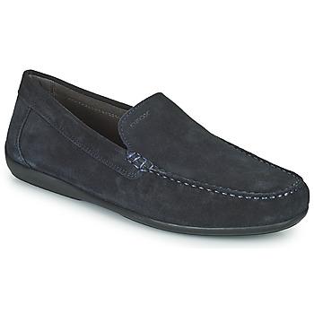 Topánky Muži Mokasíny Geox U ASCANIO A Námornícka modrá