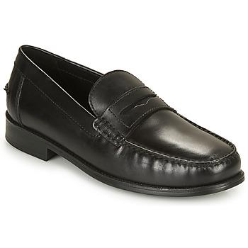 Topánky Muži Mokasíny Geox U NEW DAMON B Čierna