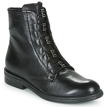 Topánky Ženy Polokozačky Mjus PALLY Čierna