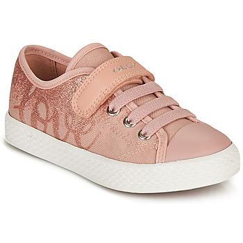 Topánky Dievčatá Nízke tenisky Geox JR CIAK GIRL Ružová