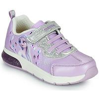 Topánky Dievčatá Nízke tenisky Geox SPACECLUB GIRL Fialová