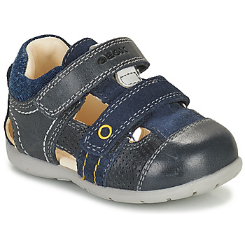 Topánky Chlapci Sandále Geox KAYTAN Námornícka modrá