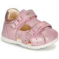 Topánky Dievčatá Sandále Geox KAYTAN Ružová