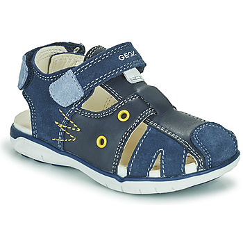 Topánky Chlapci Sandále Geox SANDAL DELHI BOY Námornícka modrá