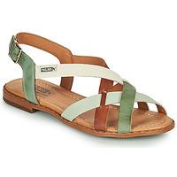 Topánky Ženy Sandále Pikolinos ALGAR W0X Hnedá / Zelená