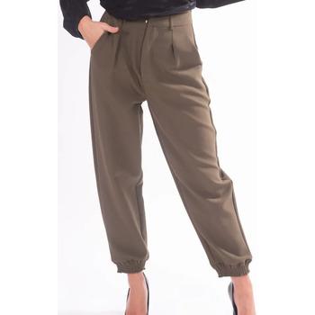 Oblečenie Ženy Nohavice Chinos a Carrot Fracomina F320WP7001W05201 Bezfarebný