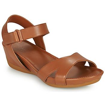 Topánky Ženy Sandále Camper MICRO Hnedá