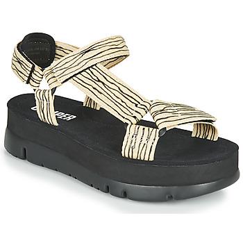 Topánky Ženy Sandále Camper ORUGA UP Čierna / Béžová