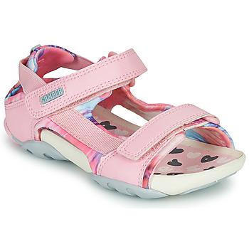 Topánky Dievčatá Sandále Camper OUS Ružová