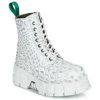 Topánky Polokozačky New Rock M-MILI083C-V9 Biela