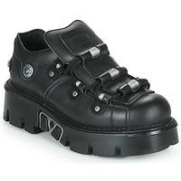 Topánky Derbie New Rock M-233-C3 Čierna