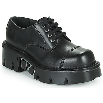 Topánky Derbie New Rock M-NEWMILI03-C3 Čierna