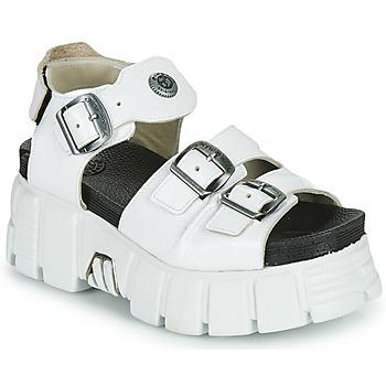 Topánky Ženy Sandále New Rock M-BIOS101-C3 Biela