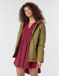 Oblečenie Ženy Kabáty Deeluxe LINA Kaki