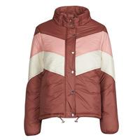 Oblečenie Ženy Vyteplené bundy Deeluxe CLAUDINE Červená / Ružová