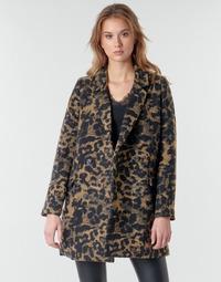 Oblečenie Ženy Bundy  Deeluxe LEA Hnedá / Čierna