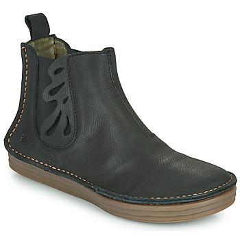Topánky Ženy Čižmičky El Naturalista PLEASENT Čierna