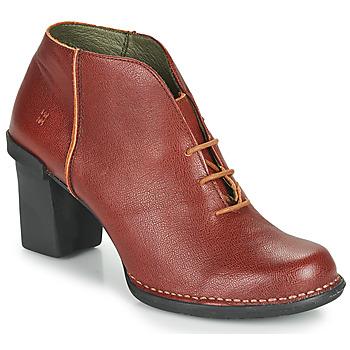 Topánky Ženy Čižmy do mesta El Naturalista CAPRETTO Hnedá