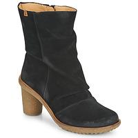 Topánky Ženy Čižmičky El Naturalista LUX Čierna
