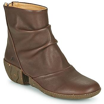 Topánky Ženy Čižmičky El Naturalista SOFT Hnedá