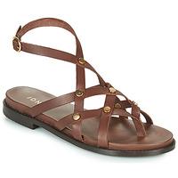 Topánky Ženy Sandále Jonak WHITNEY Hnedá