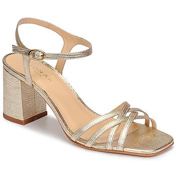 Topánky Ženy Sandále Jonak VICTORINE Zlatá