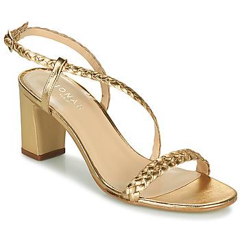 Topánky Ženy Sandále Jonak VAEMIS Zlatá
