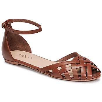 Topánky Ženy Sandále Jonak DOO Hnedá