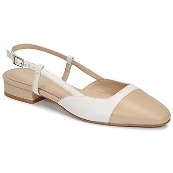 Topánky Ženy Sandále Jonak DHAPOU Béžová / Biela